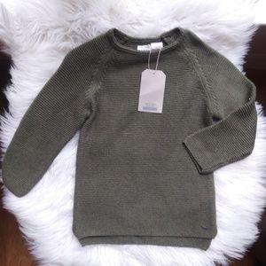 NWT ZARA Boy Knit Sweater Sz 3T / 4T